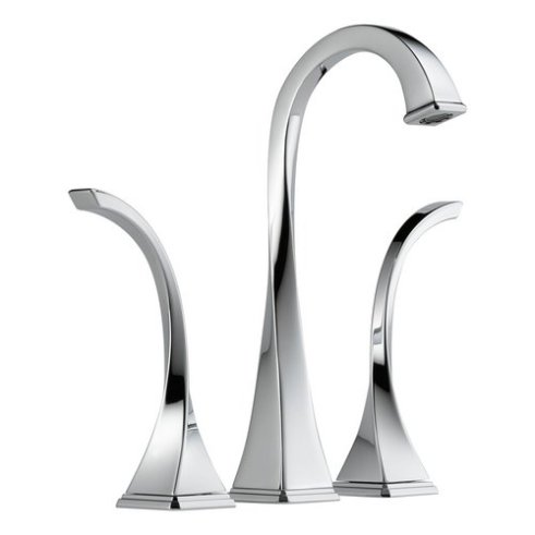 Virage Bathroom Brizo Faucet Vessel Double Handle Widespread with Metal Lever Handles courtesy of faucetdirect.com