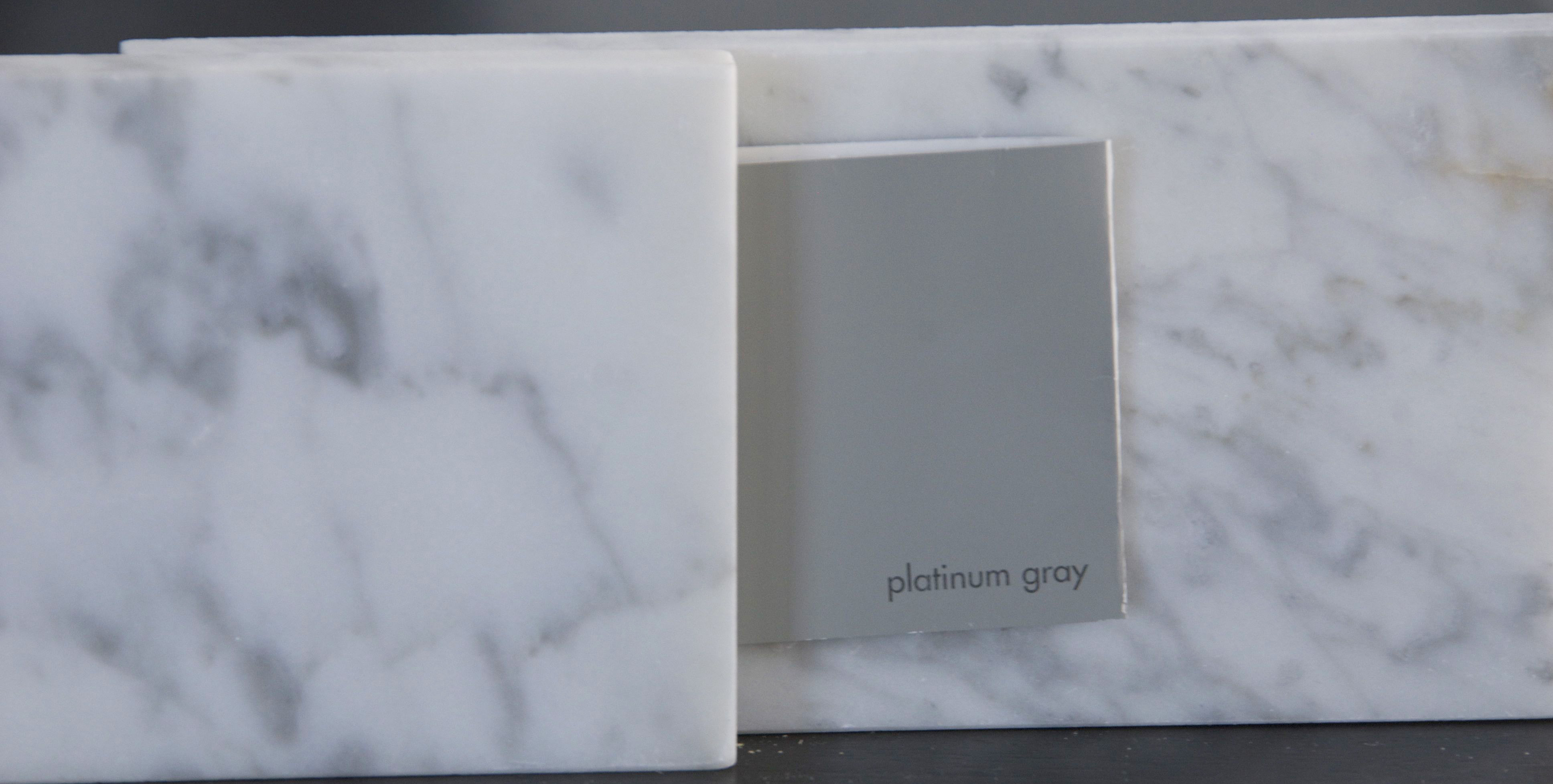 Putting tile in bathroom - Gray Glorious Gray The Rozy Home
