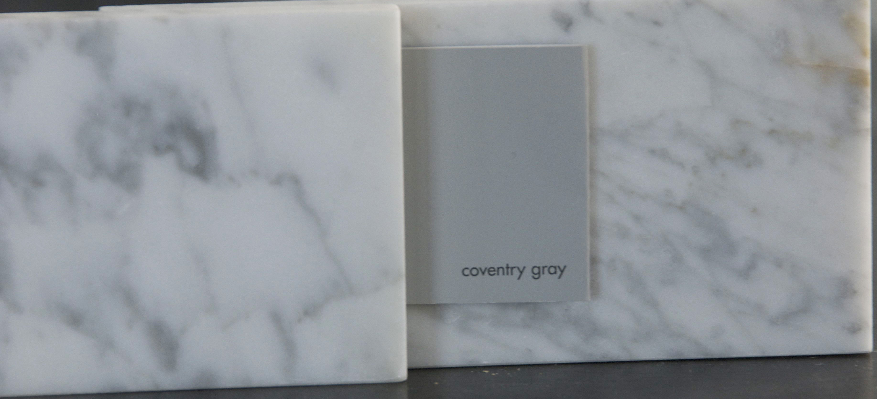 Gray glorious gray the rozy home for Benjamin moore grey bathroom
