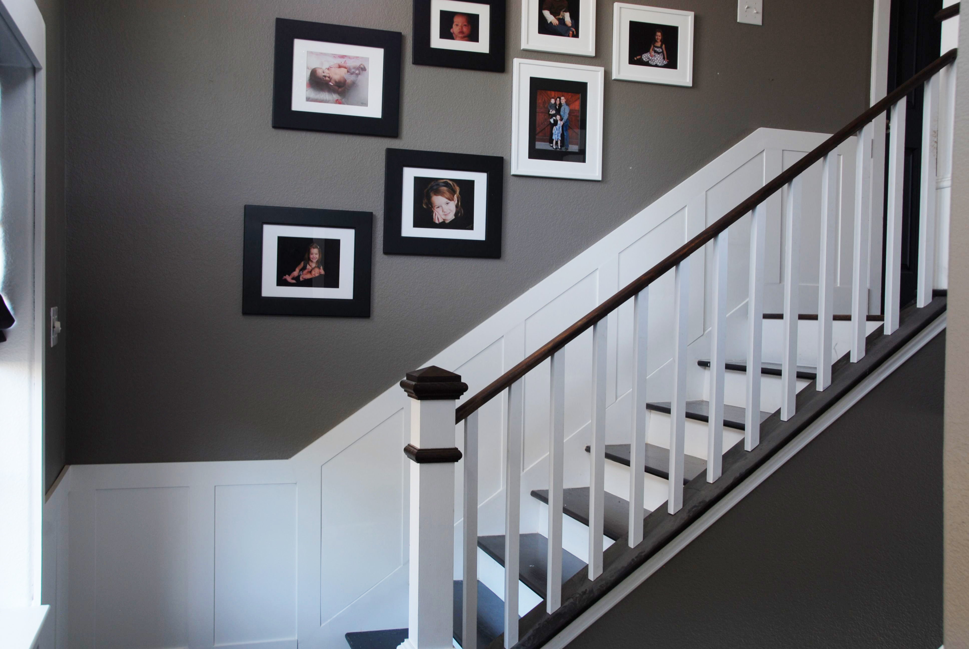 wainscoting stairway with A Better First Impression on Raised Panel Wainscoting Ideas as well Wainscoting On Stairs together with 339318153164927146 besides Crown Molding And Wainscoting together with Photo.
