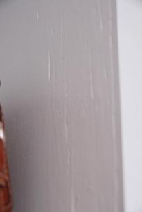 Painted Splintered Wood